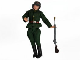 c1967 Palitoy Action Man Painted Head Russian Soldier