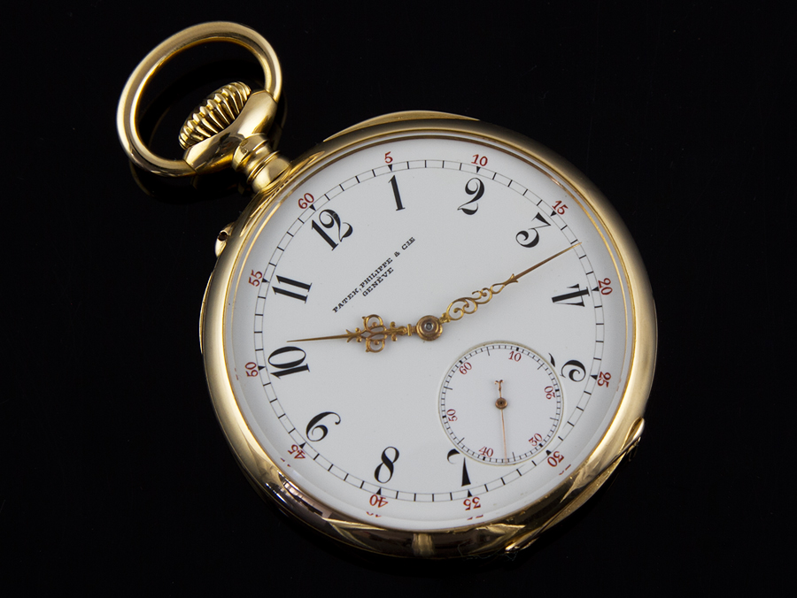 18 carat patek philippe pocket watch dated 1901 argentina. Black Bedroom Furniture Sets. Home Design Ideas