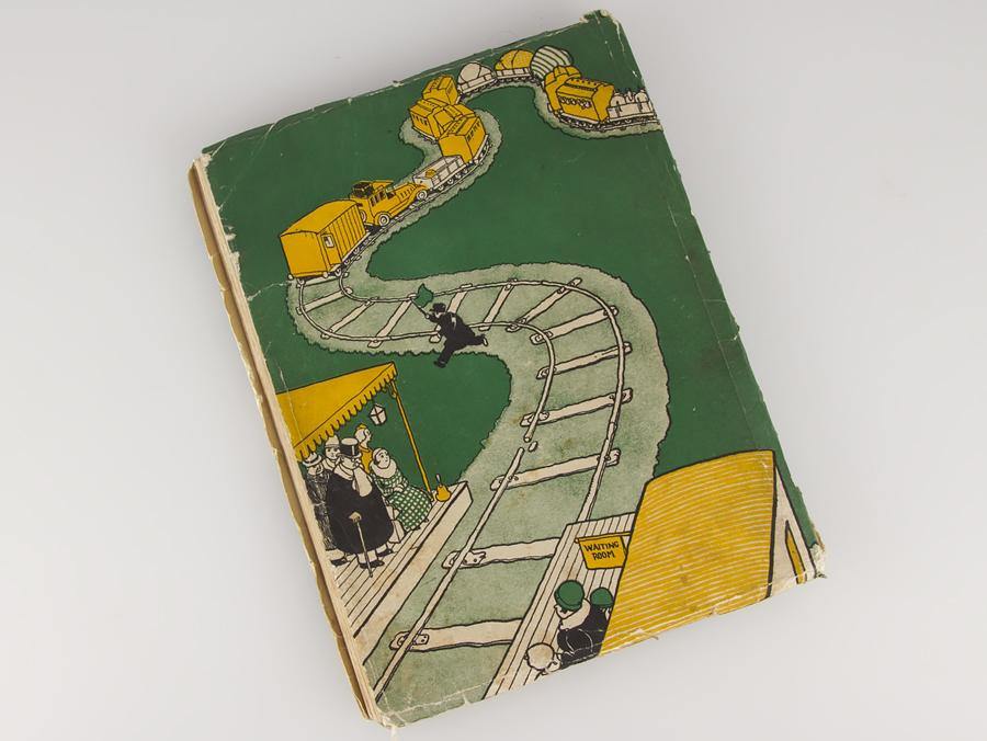 1935 Railway Ribaldry By W Heath Robinson 1st Edition