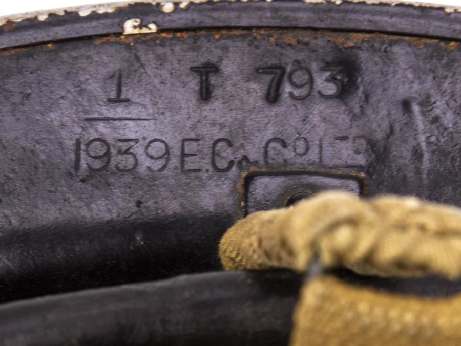 1939 Wwii British Mk2 Tommy Helmet St John S Ambulance Brigade