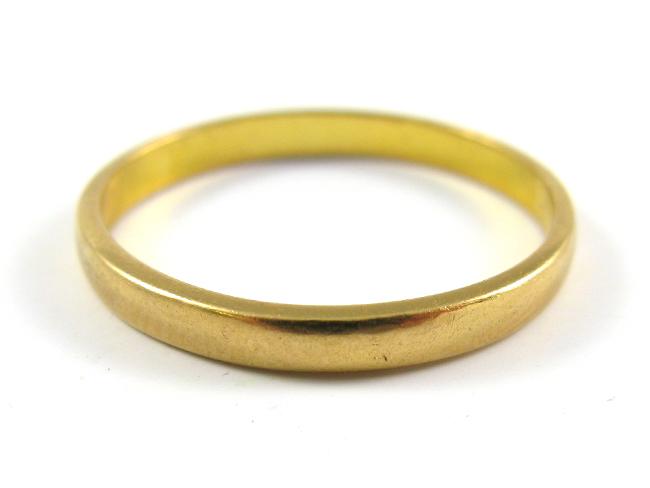 22 carat gold birmingham 1965 wedding ring ebay