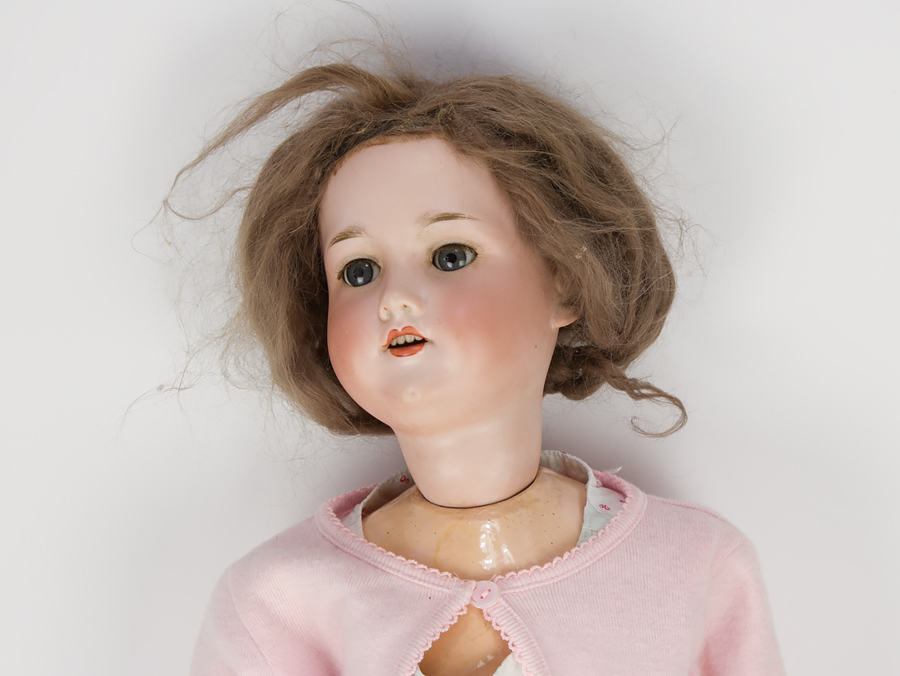 C1900 Armand Marseille 390 A8m Large German Bisque Doll Ebay