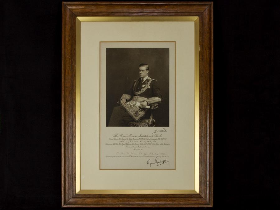 c1927 Edward VIII in Masonic Regalia Framed Photograph | eBay
