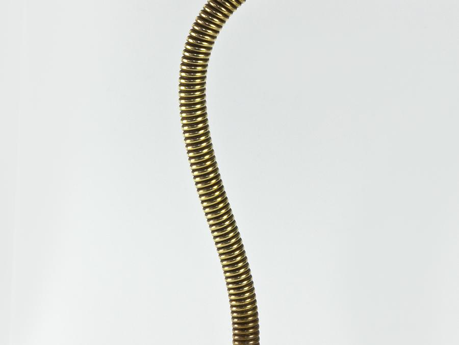 c1930 Art Nouveau Flexible Stem Brass Desk Lamp | eBay