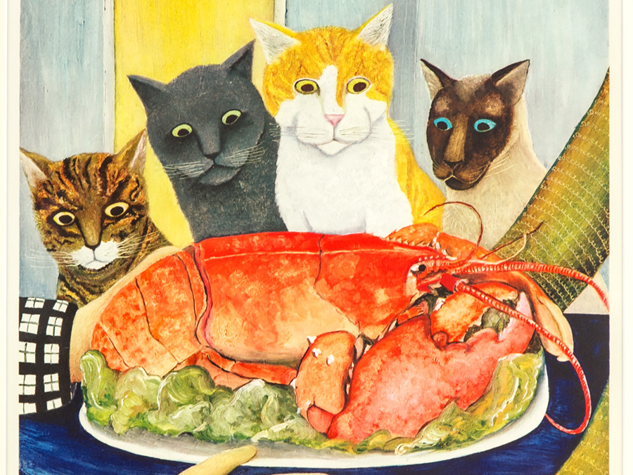 http://www.paradeantiques.co.uk/images/c1977-beryl-cook-signed-lithograph-print-four-hungry-cats-01_01.jpg