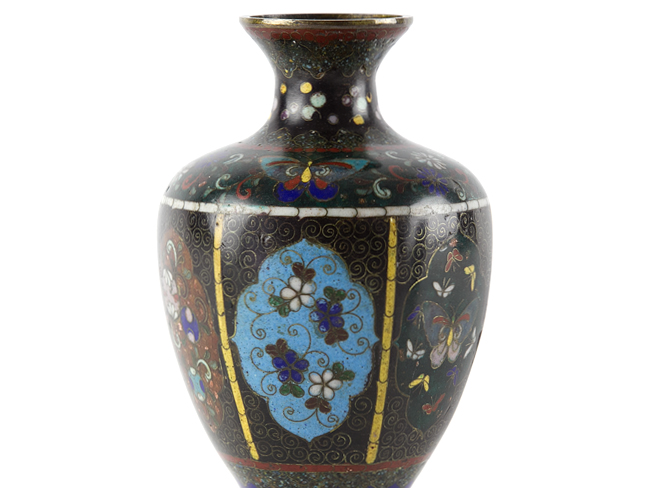 dating japanese cloisonne