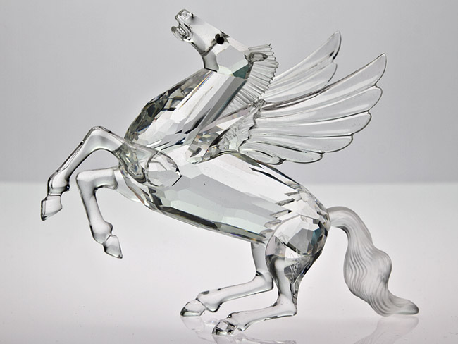 Swarovski 1998 Edition Quot The Pegasus Quot Figure Ebay