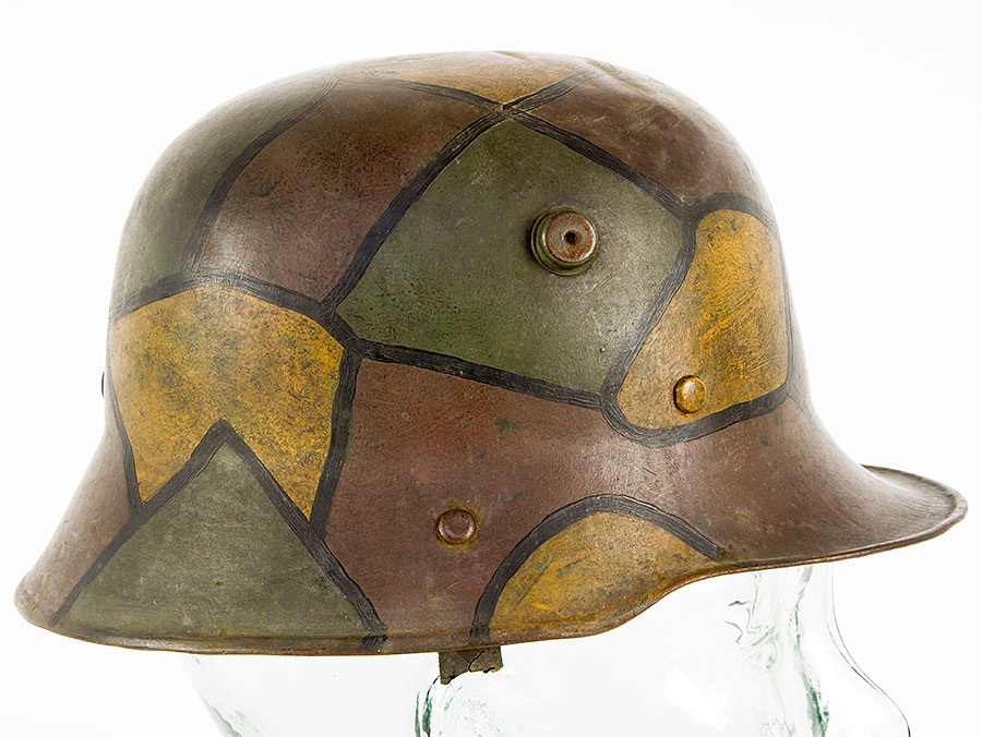 Details about Robby Wilson WWI M16 German Camouflage Childs/Officers  Lightweight Helmet