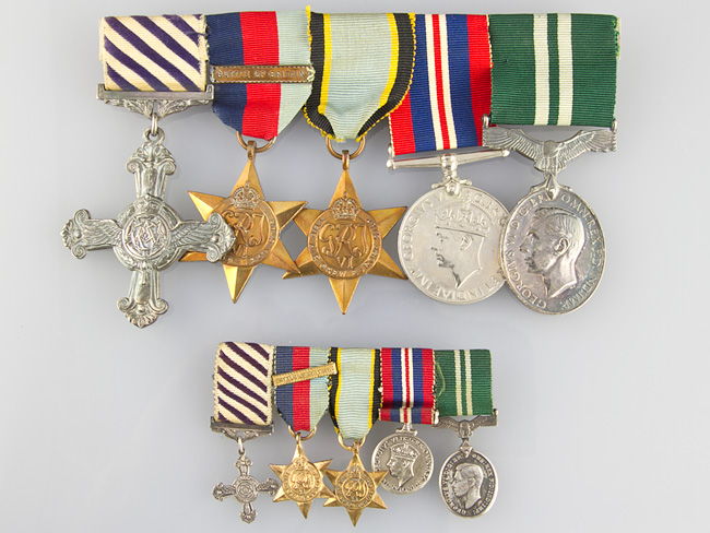 WWII-Battle-of-Britain-Distinguished-Flying-Cross-Medal-Group