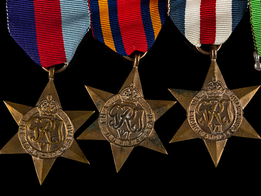 Wwii British Medals To Raf Pilot Amp Burma Star Casualty Ebay