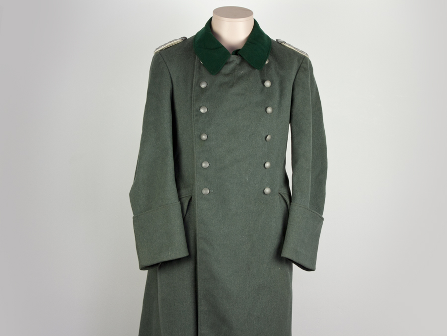 Wwii German Army Infantry Officers Great Coat Ebay
