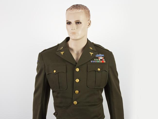 Wwii Us Surgeon Major John K Lattimer Officer S Ike
